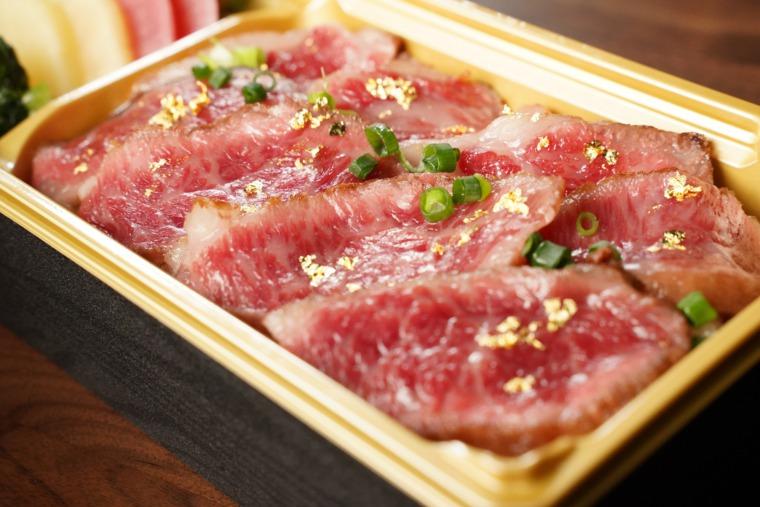 大和-極-ステーキ重1200円